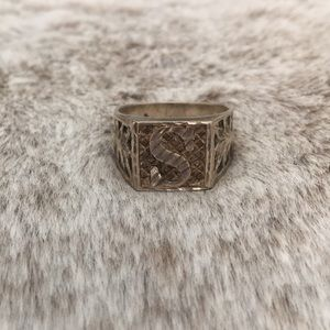 Jewelry - Vintage Sterling Silver Silver Tone Size 10.5